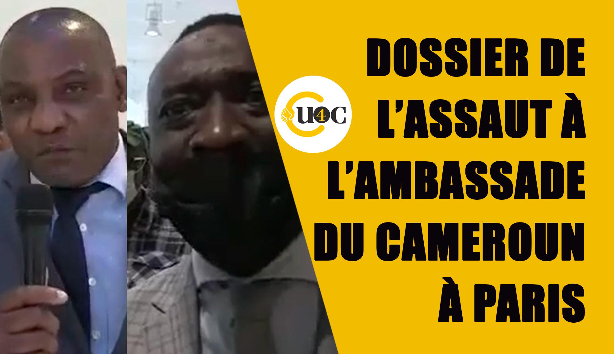 Dossier de l'assaut de  l'ambassade du Cameroun à Paris