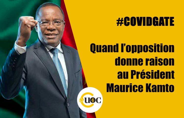 Covidgate – Quand l'opposition donne raison au Président Maurice Kamto