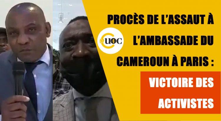 Procès de l'assaut de l'ambassade du Cameroun à Paris : victoire des activistes