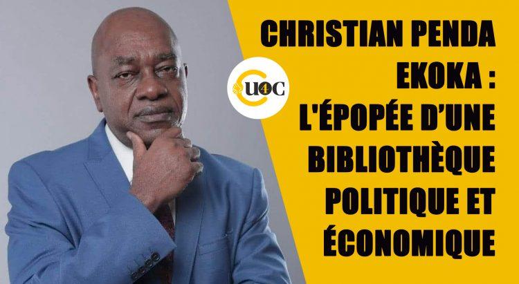 Christian Penda Ekoka : l'épopée d'une bibliothèque politique et économique