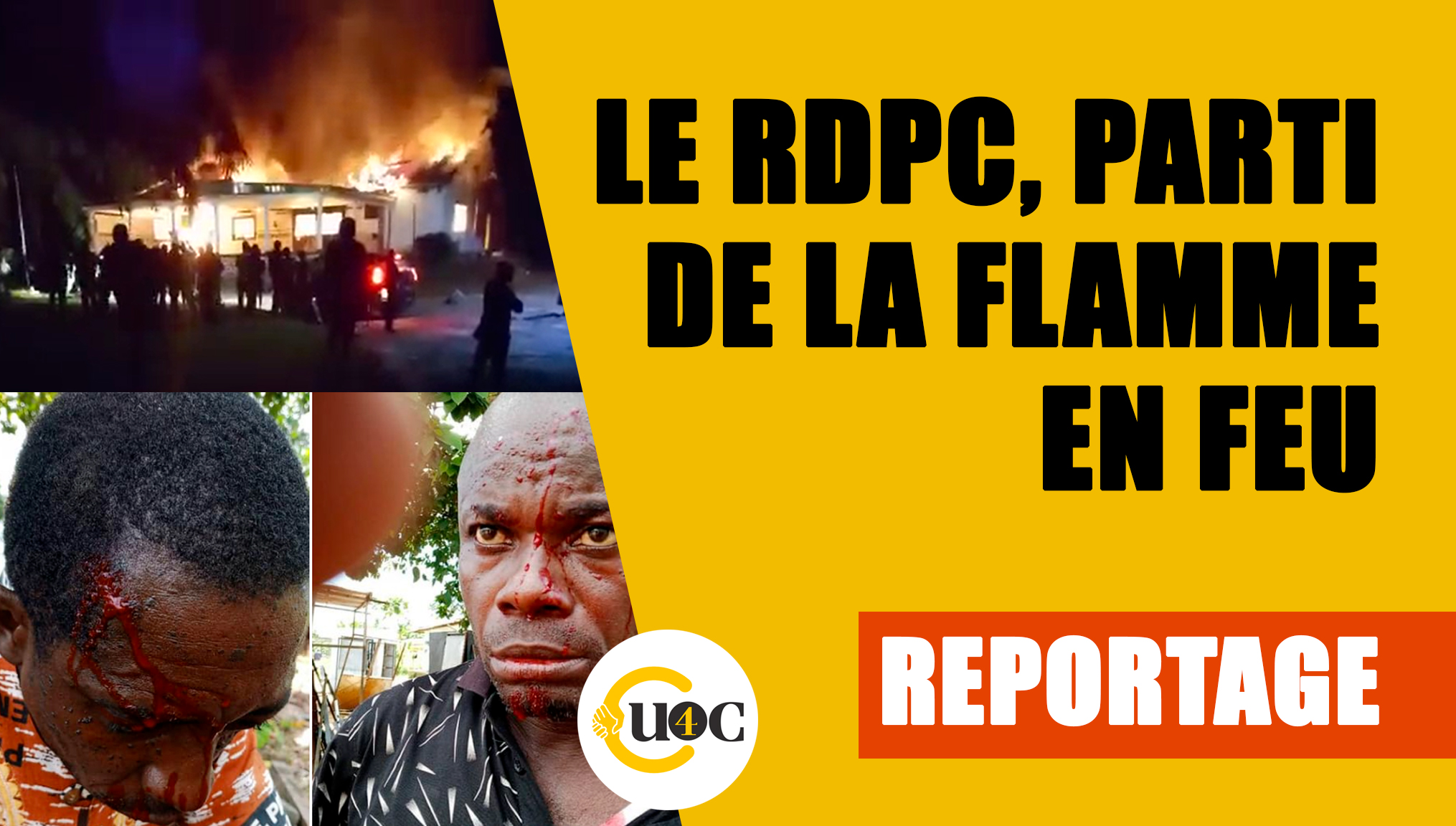 Le RDPC, parti de la flamme en feu