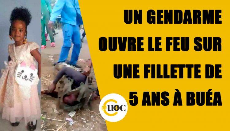 Un gendarme ouvre le feu sur une fillette de 05 ans à Buéa